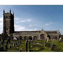 Ugborough Parish Church Photographic Print
