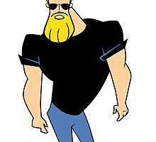 Sexy Beard Johnny by kickmatt