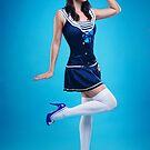 """Salute"" Pin-up Girl by Laura Balc Photographer"
