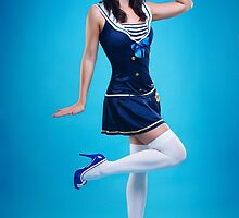"""Salute"" Pin-up Girl by Laura Balc Photography"