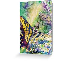 Swallowtail 1 Greeting Card