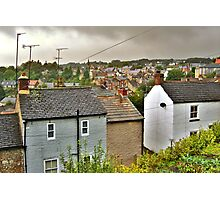 Rain On The Rooftops Of Richmond Photographic Print