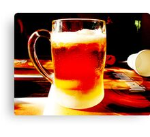 Beer! Canvas Print