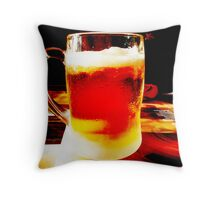 Beer! Throw Pillow