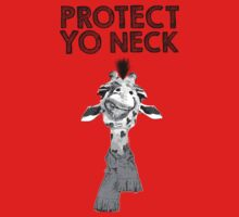 Protect Yo Neck Giraffe One Piece - Short Sleeve