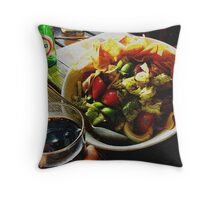 Fatoush Salad! Throw Pillow