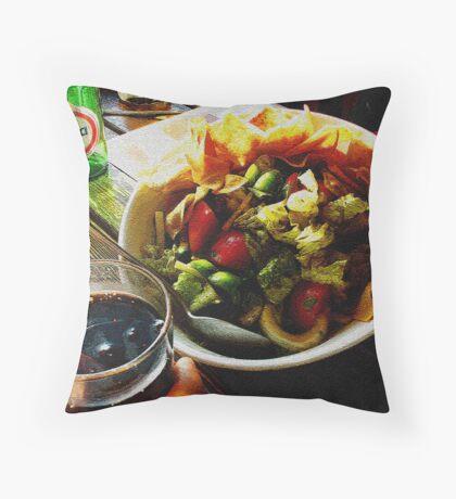 Fatoush Salad! Throw Pillow