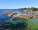 Binalong Bay, Bay of Fires, Tasmania, (2) by Margaret  Hyde