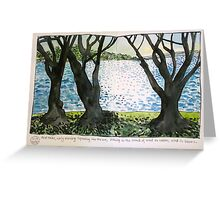 Early morning at Point Walter Greeting Card