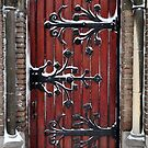 Church door in the snow by Javimage