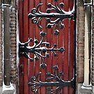 Church door in the snow by Javimage