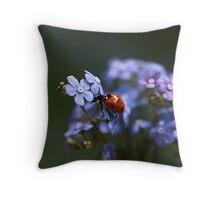 Ladybird... Throw Pillow