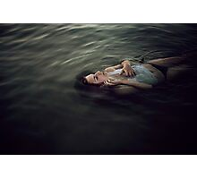 Drowned soul Photographic Print