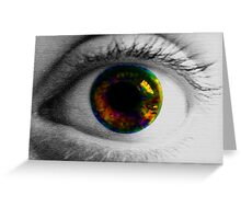 Colour Blinded Greeting Card