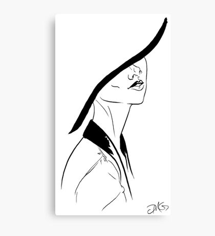 Fashion Hat Canvas Print
