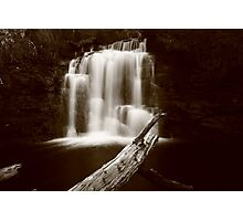 Kia Ora falls on the Overland Track Tasmania , Australia Photographic Print