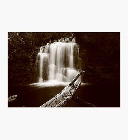 Kia Ora falls on the Overland Track Tasmania , Australia Photographic Print