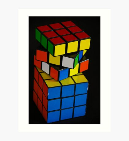 Life Can Be A Puzzle Sometimes Art Print