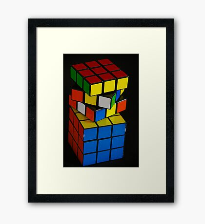 Life Can Be A Puzzle Sometimes Framed Print
