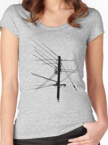 Birds Women's Fitted Scoop T-Shirt