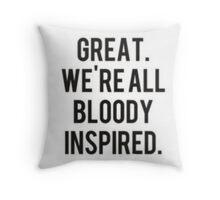 Newt Quotes Throw Pillow
