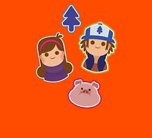 gravity falls mystery pattern Womens Fitted T-Shirt