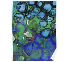 Deep Sea Bubbles Poster
