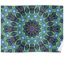 Dark Star Zodiac Central Tesselations  (UF0268) Poster