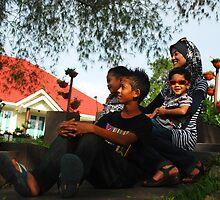 My Family @ Gunung Jerai by corneamelayu