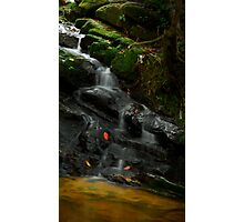 Waterfall @ Gunung Jerai Photographic Print