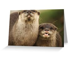 Otter`s Pride Greeting Card