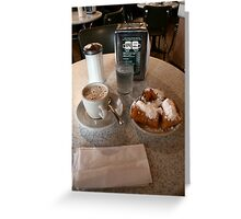 Beignets Greeting Card