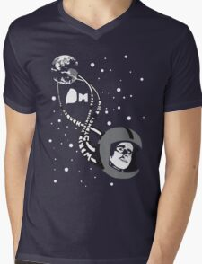 D. MODE Mens V-Neck T-Shirt