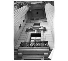 Stone Balcony Poster