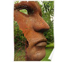 Face sculpture Poster