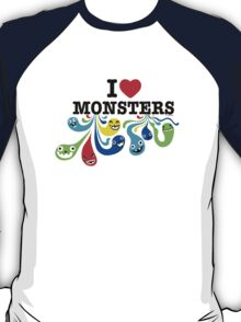 I Heart Monsters T-Shirt