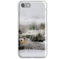 White Winter iPhone Case/Skin