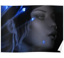 Bella Blue Poster