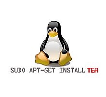 Linux - Get Install Tea Photographic Print