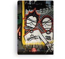 Graffiti art, Glasgow Canvas Print