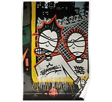 Graffiti art, Glasgow Poster