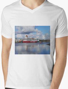 Spirit of Tasmania 11, Devonport, Tasmania, Australia Mens V-Neck T-Shirt