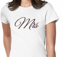Mrs  Womens Fitted T-Shirt