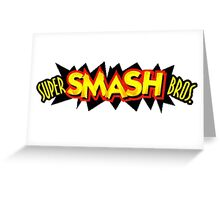 Super Smash Bros. 64 Logo Greeting Card