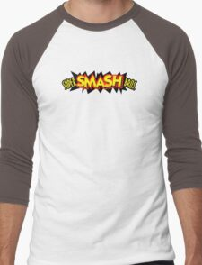 Super Smash Bros. 64 Logo Men's Baseball ¾ T-Shirt
