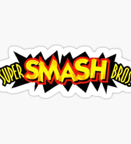 Super Smash Bros. 64 Logo Sticker