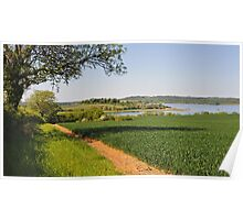 View over Rutland Water Poster