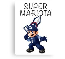 Super Mariota - #8 Marcus Mariota - Tennessee Titans Canvas Print
