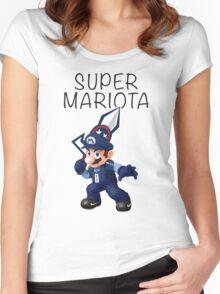 Super Mariota - #8 Marcus Mariota - Tennessee Titans Women's Fitted Scoop T-Shirt
