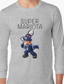 Super Mariota - #8 Marcus Mariota - Tennessee Titans Long Sleeve T-Shirt